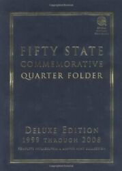Fifty State Commemorative Quarter Folder 1999 Through By Whitman Coin Book And