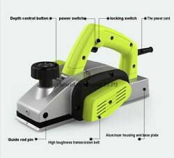 Powerful Electric Hand Held Wood Planer Woodworking Power Tools 220v 1000w