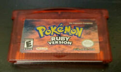 Pokemon Firered Emerald Ruby Leafgreen Sapphire Gba Gameboy Advance Game Card
