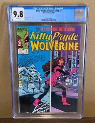 Kitty Pryde And Wolverine 1 Cgc 9.8 White Pages 1984 Marvel Comics Classic
