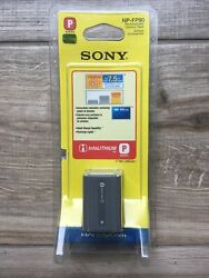 Sony Np-fp90 P-series Infolithium Rechargeable Battery Pack Nib