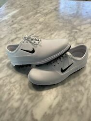 Nike Zoom Victory Tour Golf Cleats White Black Size 10 Rare New Aq1479-122