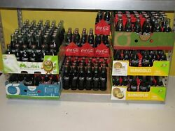 285 Coca Cola Bottles Full With Their Original Fluid Inside. 60and039s And 70and039s.