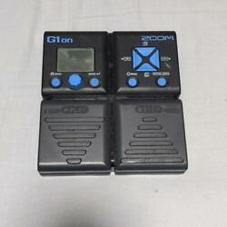 Zoom G1on Multi-effects Ships Safely From Japan