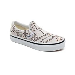 Vans Off The Wall Kids X Harry Potter Marauders Map Slip on Shoes Size 10.5K