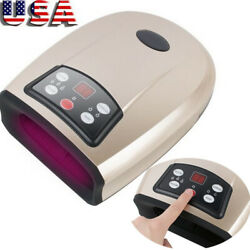 Fda Relax Cordless Luxurious Electronic Hand Massager With Heat Therapy Machine