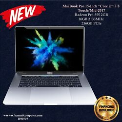 Macbook Pro 15-inch Core I7 2.8 Touch/mid-2017, 16gb, 256gb Brand New