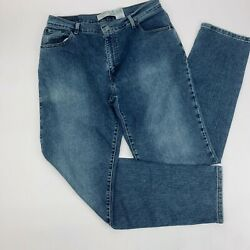 550 Womens Jeans 14l Blue Classic Relaxed Tapered Stretch Light Wash