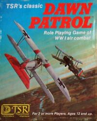 Dawn Patrol Role Playing Game Of Wwi Air Combat Boxed By Mike Carr - Hardcover