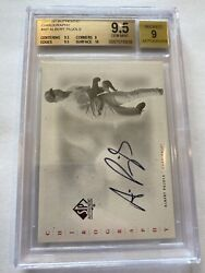 2001 Sp Authentic Chirography Albert Pujols Rookie Rc Auto Ap Becket 9.5