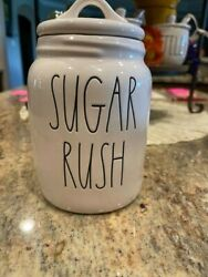 Rae Dunn Sugar Rush Baby Canister Large Letter Ll 7 Flat Lid