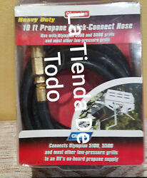 Heavy Duty 10' Feet Propane Quick Connect Hose Fits 57282 For Rv - Grills Read