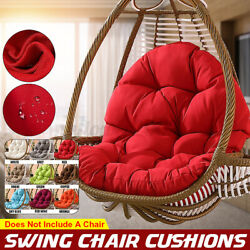 Garden Patio Hanging Swing Egg Hammock Stand Porch Chair Bench Seat Cushion Pad