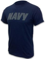 Armed Forces Gear Menand039s Navy Military Reflective Pt Shirt