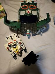 Mighty Morphin Power Rangers Tor The Shuttlezord And Tigerzord Zord Megazord...