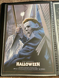 Halloween Michael Myers Mondo Print Signed And Numbered Sold Out -jason Edmiston