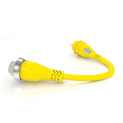 Furrion Fp5530-sy Yellow 50 Amp 125/250v Female To 30 Amp Male Pigtail