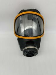 Gas Mask Ultravue Series L Facepiece Material Hycar Rubber Large