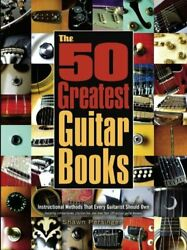 50 Greatest Guitar Books By Shawn Persinger Excellent Condition