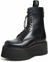 R13 Womenand039s Combat Stack Boots