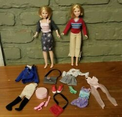 Mary Kate And Ashley Olsen Dolls With Clothes And Accessories EUC $24.95