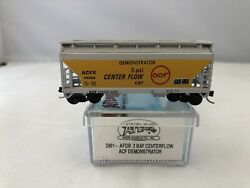 N Scale Atlas Afc 2 Bay Centerflow Demonstrator 3901 Acfx 44586 With Box