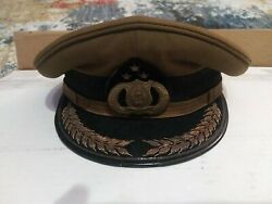Vintage Malaysian Police Hat
