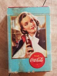 Ww2 Coca Cola Airplane Spotter Playing Cards