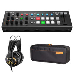 Roland Ultimate Compact V-1hd+ Hd Video Switcher W/ Carry Bag And Akg Headphone