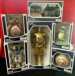 Droid Depot Ultimate Collection Star Wars Galaxyandrsquos Edge 6 New Droids Htf Bonus