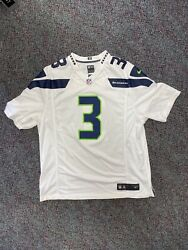 Seattle Seahawks Russell Wilson Nfl Jersey Size Xl Vintage Vtg Authentic Rare