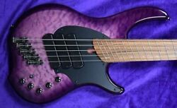 Dingwall Combustion 5-string, Ultra Violet / Pau Ferro / 3 Pickups In Stock