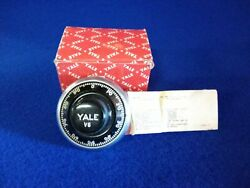 Vintage Yale Safe Combination Lock Dial And Spindle