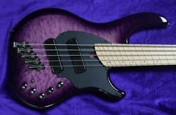 Dingwall Combustion 5-string. Ultra Violet / Maple / 2 Pickups In Stock
