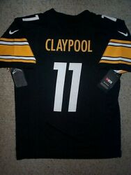 2021-2022 Nike Steelers Chase Claypool Nfl Jersey Youth Kids Boys L-lg-large