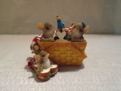 Charming Tails Family Picnic Mouse Figurine 98/272