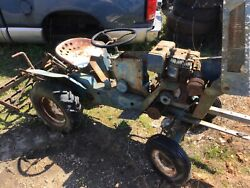Sears Suburban Lawn Garden Pulling Tractor Classic 1966 3 Point Hitch Tiller