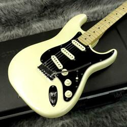 Fender Usa American Deluxe Stratocaster N3 Olympic Pearl Used