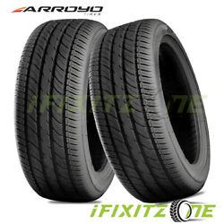 2 Arroyo Grand Sport 2 195/45r15 78v Tires Performance 400aa 50k Mile A/s
