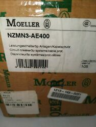 New Moeller Circuit Breaker Nzmn3-ae400.  Free Shipping From Vermont