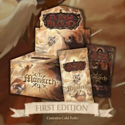 Flesh And Blood Monarch Case Of 4 Booster Boxes 1st Edition Sealed