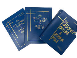 The Preacher's Outline And Sermon Bibles Lot Master Index Vol 14 Kjv Genesis 1 And 2