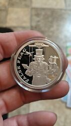 Sbss False Flag Release Proof Trial Run 1 Oz .999 Silver Bullion Only 5 Made.