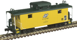 Atlas N Scale Ne-5 Steel Cupola Caboose Chicago And North Western/cnw 10507
