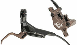 Hayes Dominion A2 Sfl Disc Brake And Lever Front Hydraulic Post Mount Black/bronze