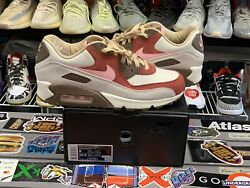 Nike Air Max 90 Bacon Size 9 Vintage Vtg Authentic Rare Trainer New Runner Pink