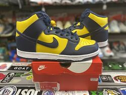 Ds Brand New Nike Dunk High Sp Michigan 2020 Size 11 Authentic Rare Vintage Vtg