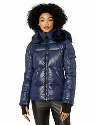 S13 Womenand039s Kylie Down Puffer Jacket With Faux Fur - Choose Sz/color