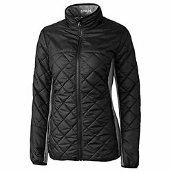 Cutter And Buck Women's Wind And Water Packable Lightweight Sandpoint Quilted J...