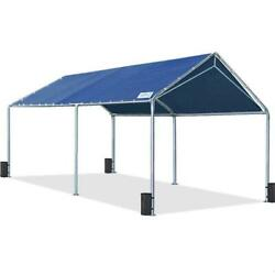 Quictent 10x20ft Carport Canopy Heavy Duty Outdoor Car Shed Boat Shelter Garage